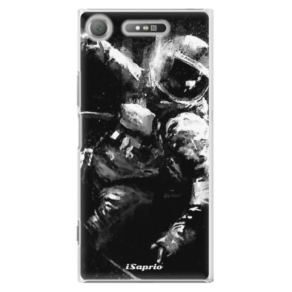 Plastové pouzdro iSaprio - Astronaut 02 - Sony Xperia XZ1