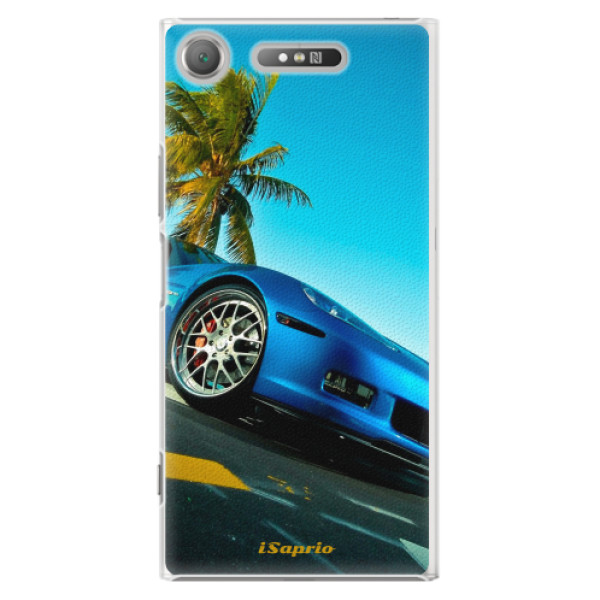 Plastové pouzdro iSaprio - Car 10 - Sony Xperia XZ1