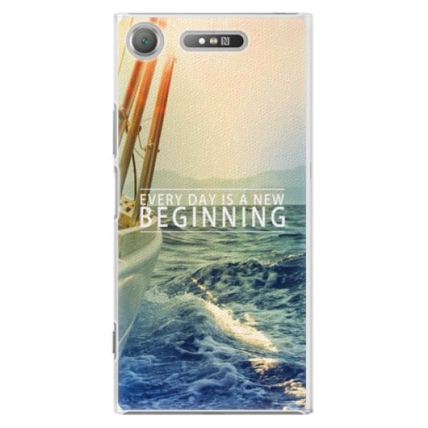 Plastové pouzdro iSaprio - Beginning - Sony Xperia XZ1