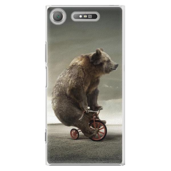 Plastové pouzdro iSaprio - Bear 01 - Sony Xperia XZ1