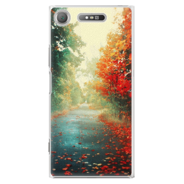 Plastové pouzdro iSaprio - Autumn 03 - Sony Xperia XZ1