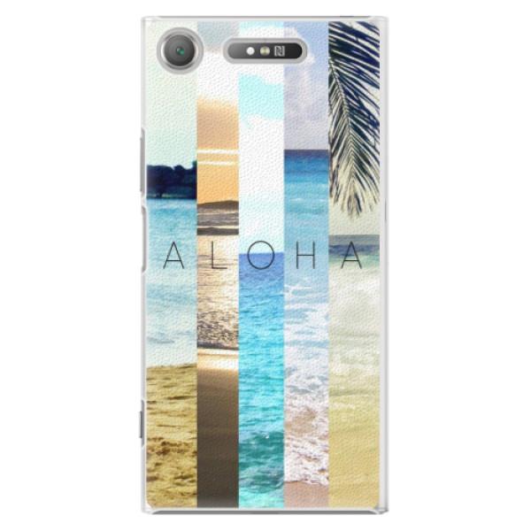 Plastové pouzdro iSaprio - Aloha 02 - Sony Xperia XZ1