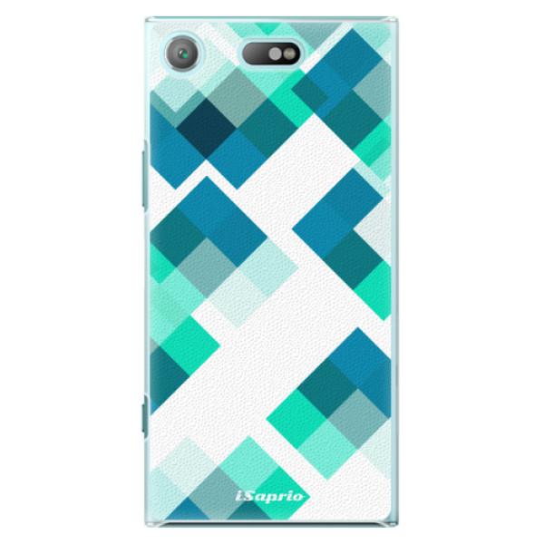 Plastové pouzdro iSaprio - Abstract Squares 11 - Sony Xperia XZ1 Compact
