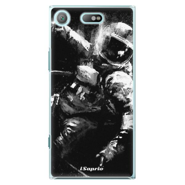 Plastové pouzdro iSaprio - Astronaut 02 - Sony Xperia XZ1 Compact