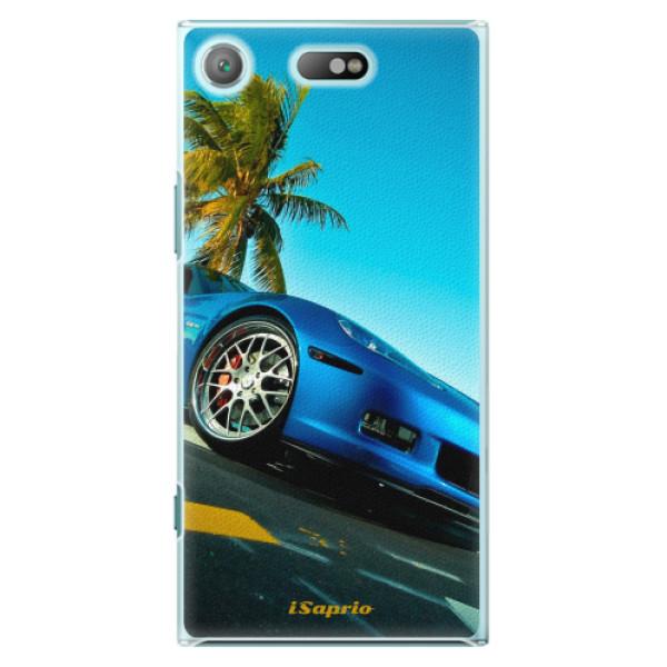 Plastové pouzdro iSaprio - Car 10 - Sony Xperia XZ1 Compact