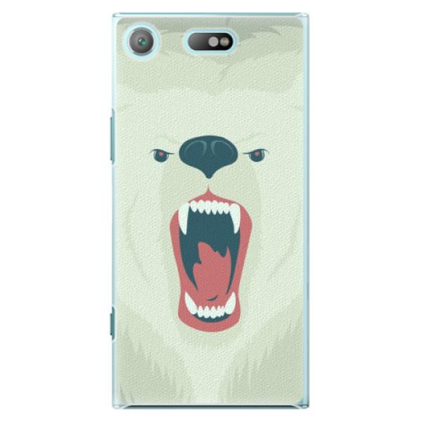 Plastové pouzdro iSaprio - Angry Bear - Sony Xperia XZ1 Compact