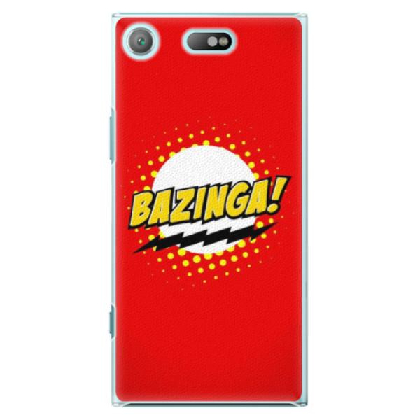 Plastové pouzdro iSaprio - Bazinga 01 - Sony Xperia XZ1 Compact