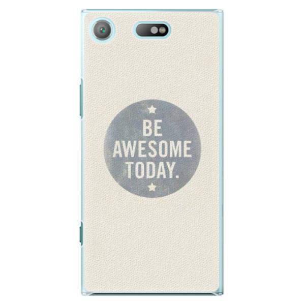 Plastové pouzdro iSaprio - Awesome 02 - Sony Xperia XZ1 Compact