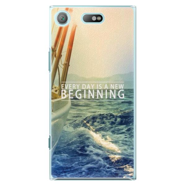 Plastové pouzdro iSaprio - Beginning - Sony Xperia XZ1 Compact