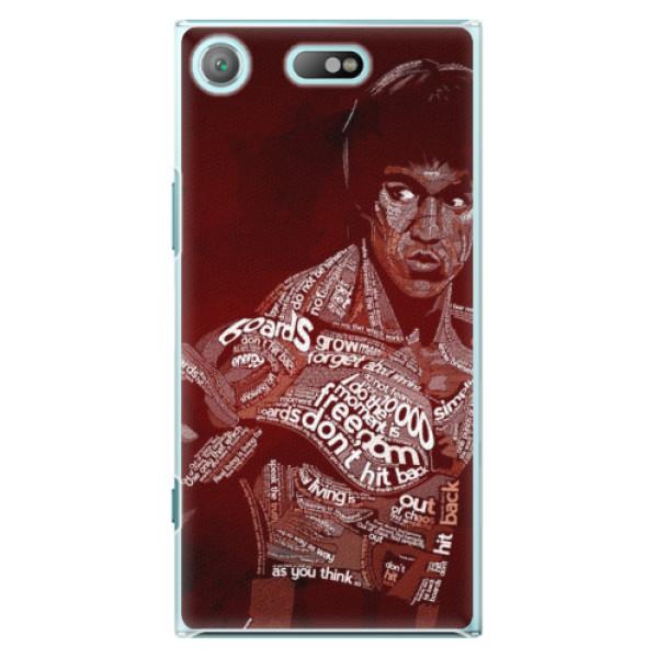 Plastové pouzdro iSaprio - Bruce Lee - Sony Xperia XZ1 Compact