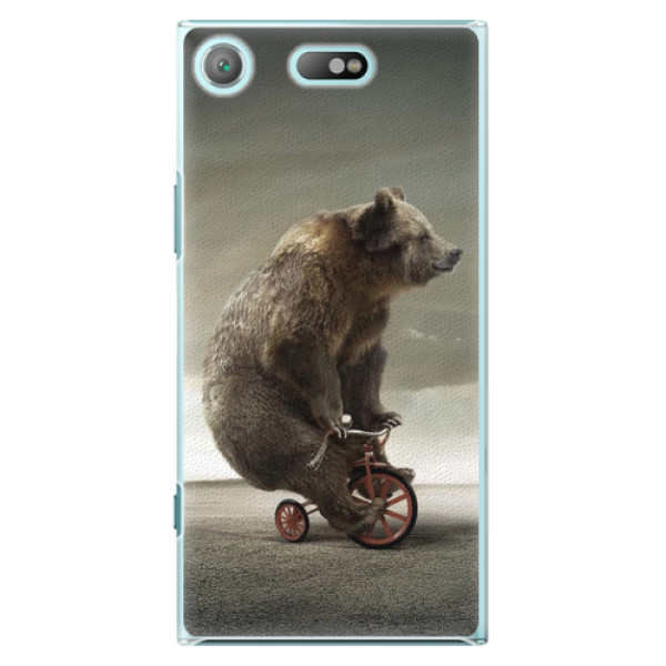 Plastové pouzdro iSaprio - Bear 01 - Sony Xperia XZ1 Compact