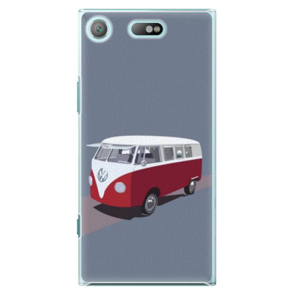 Plastové pouzdro iSaprio - VW Bus - Sony Xperia XZ1 Compact