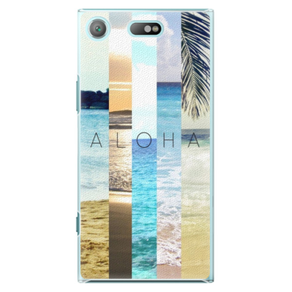 Plastové pouzdro iSaprio - Aloha 02 - Sony Xperia XZ1 Compact