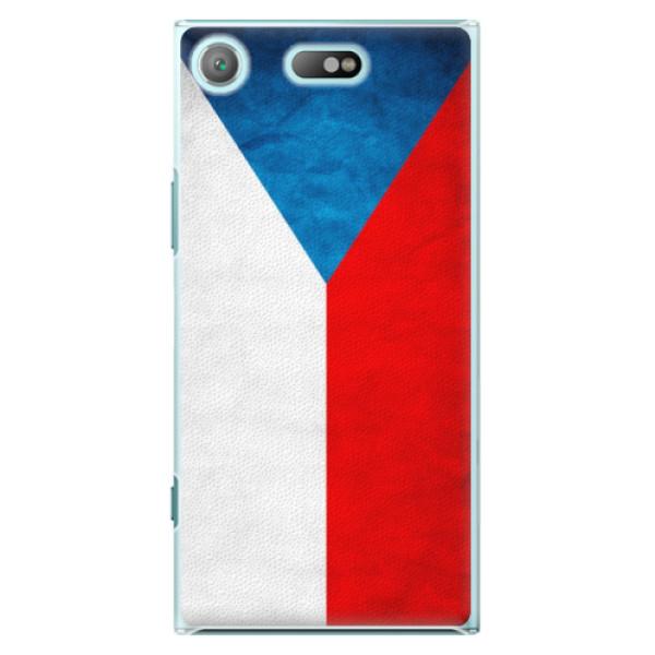 Plastové pouzdro iSaprio - Czech Flag - Sony Xperia XZ1 Compact