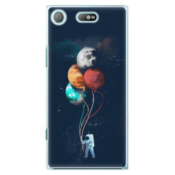 Plastové pouzdro iSaprio - Balloons 02 - Sony Xperia XZ1 Compact