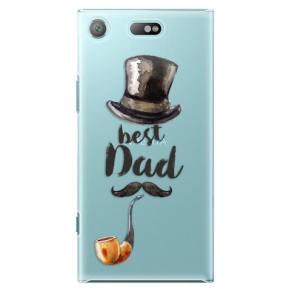Plastové pouzdro iSaprio - Best Dad - Sony Xperia XZ1 Compact