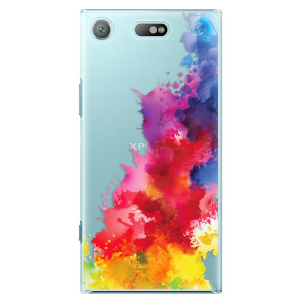 Plastové pouzdro iSaprio - Color Splash 01 - Sony Xperia XZ1 Compact