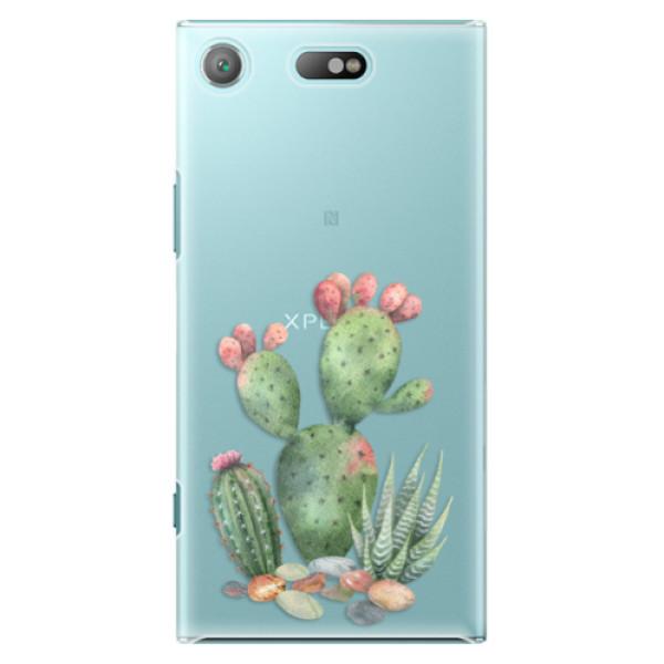 Plastové pouzdro iSaprio - Cacti 01 - Sony Xperia XZ1 Compact