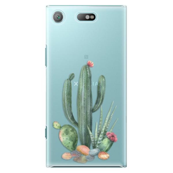 Plastové pouzdro iSaprio - Cacti 02 - Sony Xperia XZ1 Compact