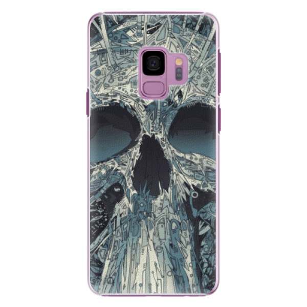 Plastové pouzdro iSaprio - Abstract Skull - Samsung Galaxy S9