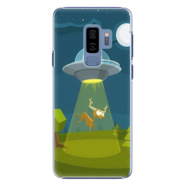 Plastové pouzdro iSaprio - Alien 01 - Samsung Galaxy S9 Plus