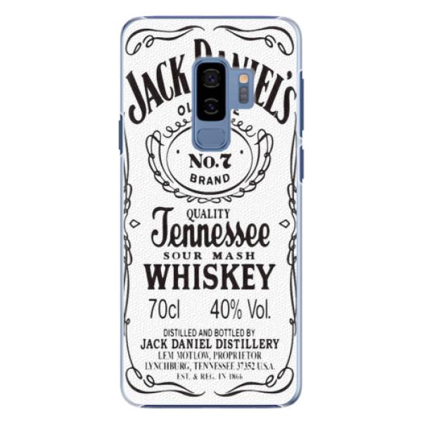 Plastové pouzdro iSaprio - Jack White - Samsung Galaxy S9 Plus
