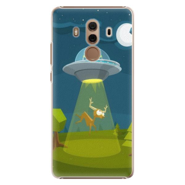 Plastové pouzdro iSaprio - Alien 01 - Huawei Mate 10 Pro