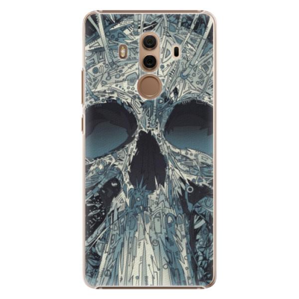 Plastové pouzdro iSaprio - Abstract Skull - Huawei Mate 10 Pro