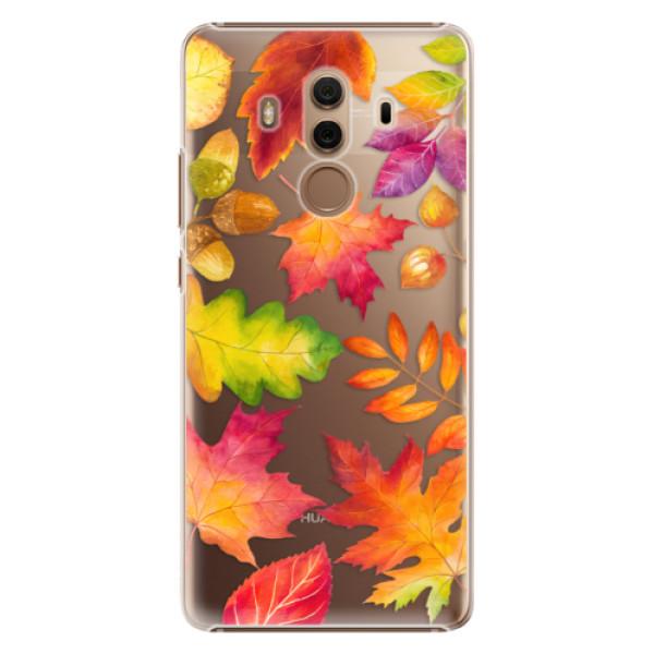 Plastové pouzdro iSaprio - Autumn Leaves 01 - Huawei Mate 10 Pro