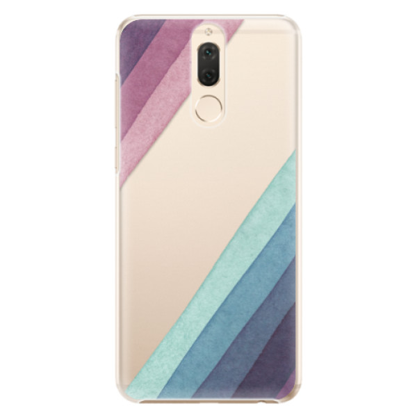 Plastové pouzdro iSaprio - Glitter Stripes 01 - Huawei Mate 10 Lite