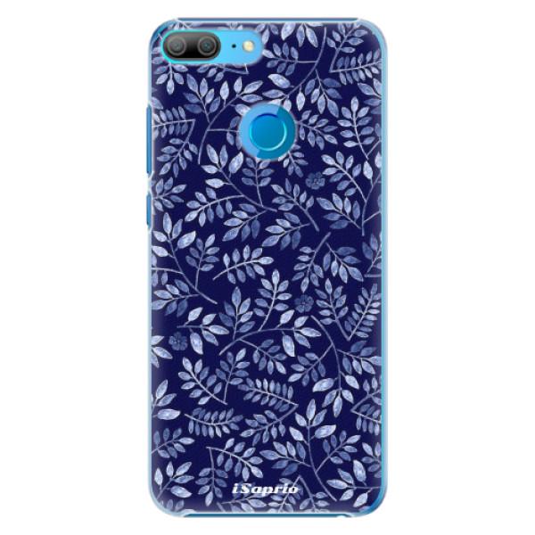 Plastové pouzdro iSaprio - Blue Leaves 05 - Huawei Honor 9 Lite