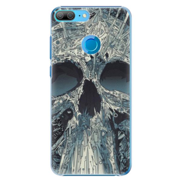 Plastové pouzdro iSaprio - Abstract Skull - Huawei Honor 9 Lite