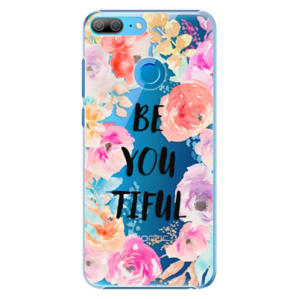 Plastové pouzdro iSaprio - BeYouTiful - Huawei Honor 9 Lite