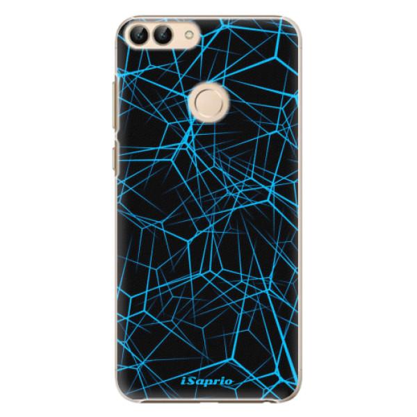 Plastové pouzdro iSaprio - Abstract Outlines 12 - Huawei P Smart