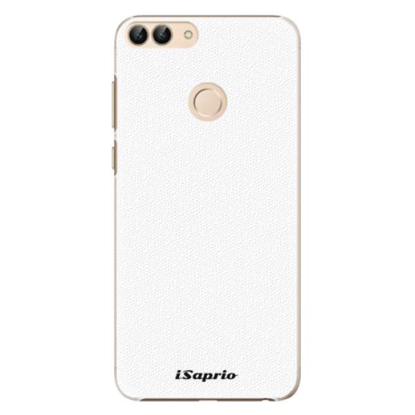Plastové pouzdro iSaprio - 4Pure - bílý - Huawei P Smart