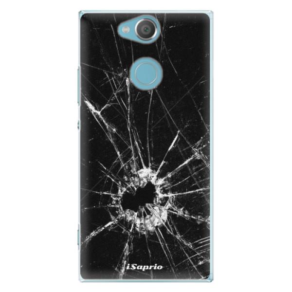 Plastové pouzdro iSaprio - Broken Glass 10 - Sony Xperia XA2