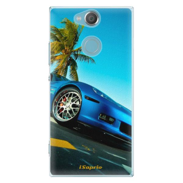Plastové pouzdro iSaprio - Car 10 - Sony Xperia XA2