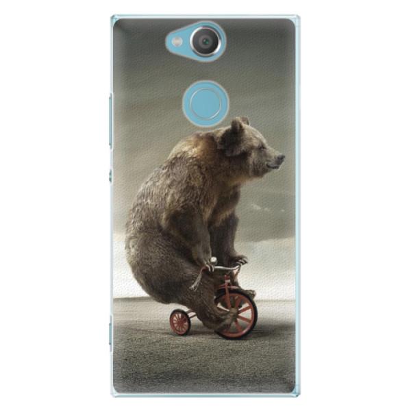 Plastové pouzdro iSaprio - Bear 01 - Sony Xperia XA2