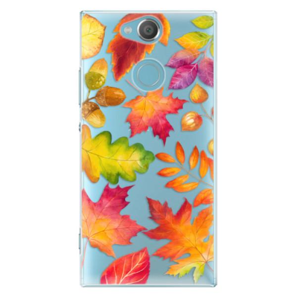 Plastové pouzdro iSaprio - Autumn Leaves 01 - Sony Xperia XA2