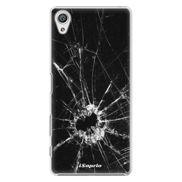 Plastové pouzdro iSaprio - Broken Glass 10 - Sony Xperia X