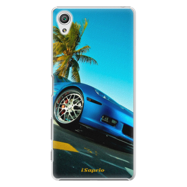 Plastové pouzdro iSaprio - Car 10 - Sony Xperia X