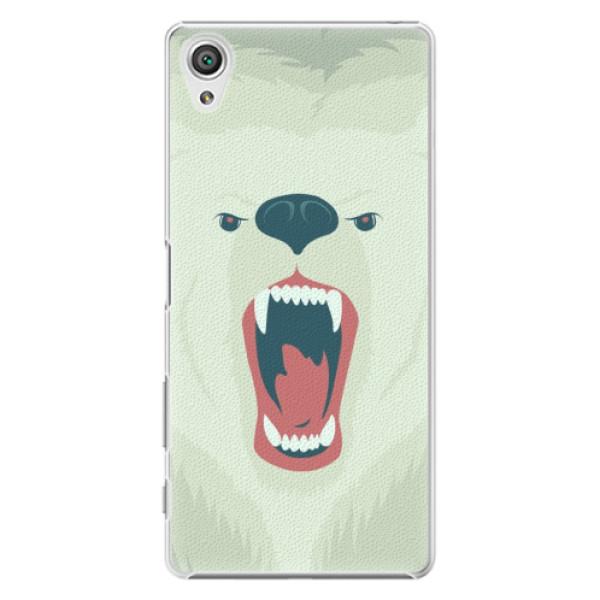 Plastové pouzdro iSaprio - Angry Bear - Sony Xperia X