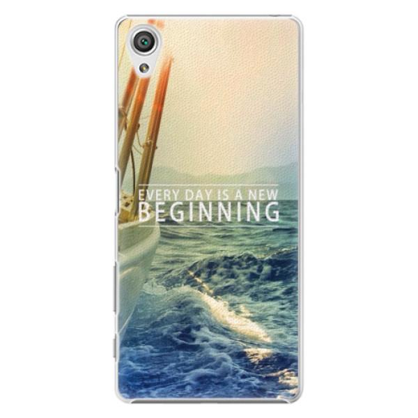 Plastové pouzdro iSaprio - Beginning - Sony Xperia X