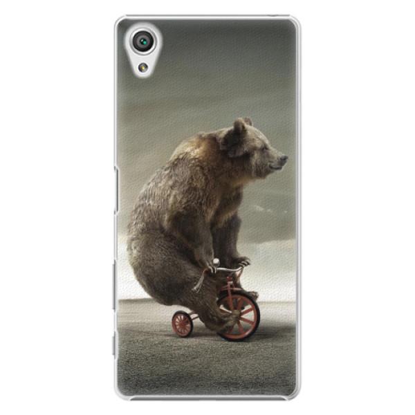 Plastové pouzdro iSaprio - Bear 01 - Sony Xperia X
