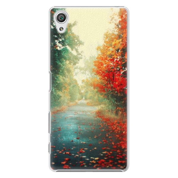 Plastové pouzdro iSaprio - Autumn 03 - Sony Xperia X
