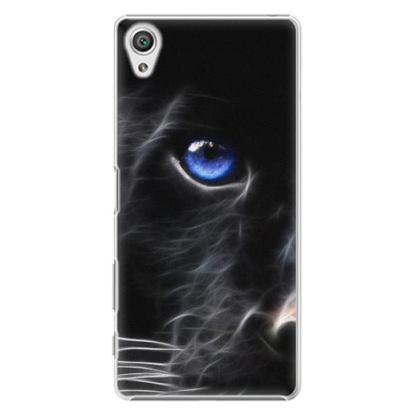 Plastové pouzdro iSaprio - Black Puma - Sony Xperia X