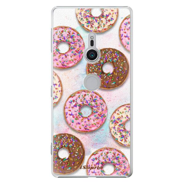Plastové pouzdro iSaprio - Donuts 11 - Sony Xperia XZ2