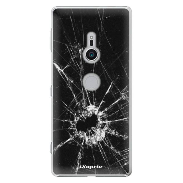 Plastové pouzdro iSaprio - Broken Glass 10 - Sony Xperia XZ2
