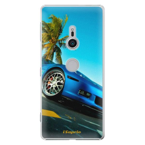 Plastové pouzdro iSaprio - Car 10 - Sony Xperia XZ2