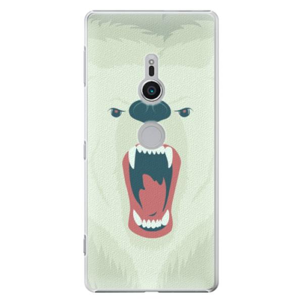 Plastové pouzdro iSaprio - Angry Bear - Sony Xperia XZ2